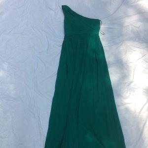 J. Crew bridesmaids dress jade